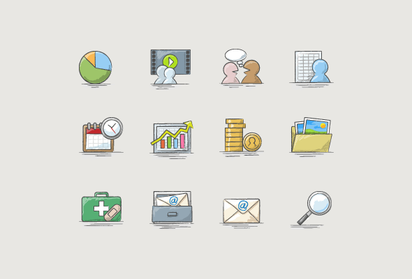 Trading Software Custom Icons