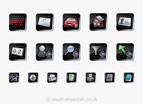 PDA App Icons