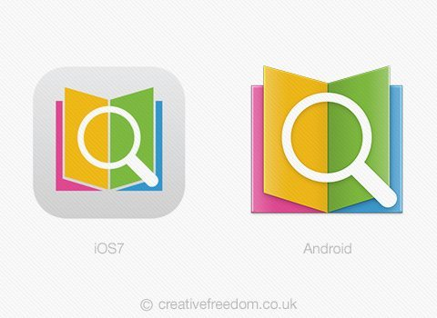 Android and iOS7 App Icons