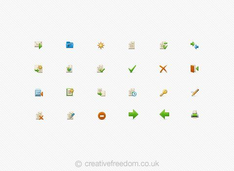 Finance Software Icons