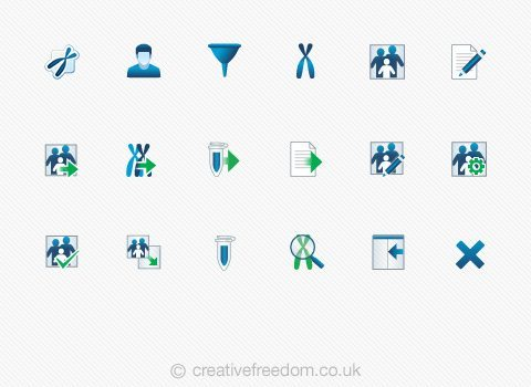 Windows User Interface Icons