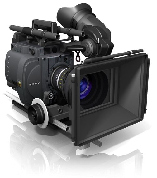 3D Sony video camera icon
