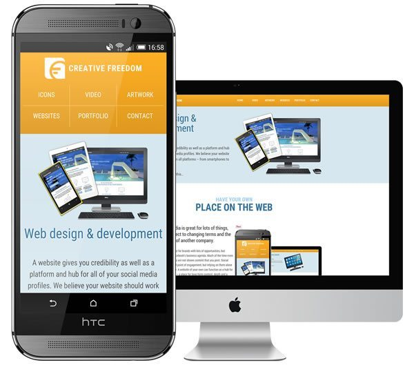 Responsive web design Cambridge