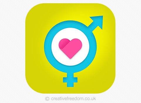 iphone dating apps icons
