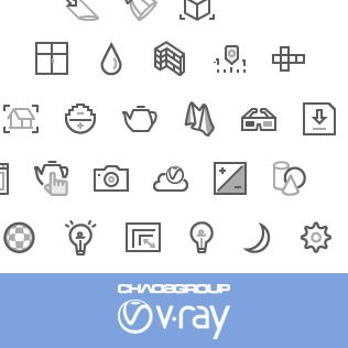 V-Ray CAD Icons
