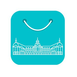 ios app icon bordeaux shopping