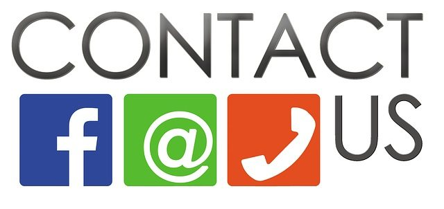 A contact us image