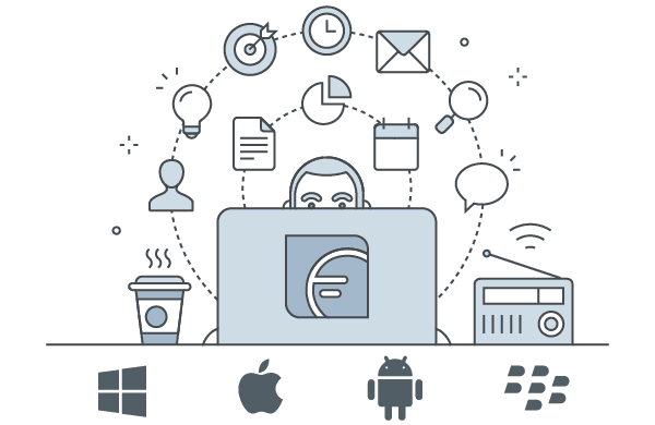 Website Illustrations and Icons