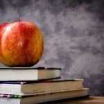 Apple and school books