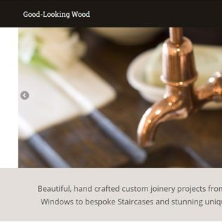 High-End Joinery Website Design