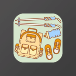 Android Hiking App Icon Design
