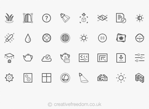 Software Icons for V-Ray