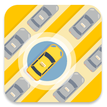 Custom app icons for Taxi App