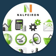 Custom icon design for Nalpeiron