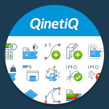 bespoke icon design for QinetiQ