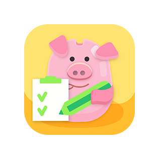iOS Piggy Bank App Icon